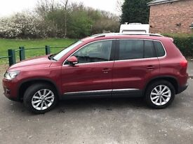 2012 VOLKSWAGEN TIGUAN 2.0 TSI AUTOMATIC DSG 4WD 200bhp Leather 17000 miles