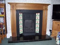 FIREPLACE, HEARTH AND GAS FIRE FOR SALE