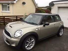 Mini Cooper S 2007 54,123miles Top of the Range model Fantastic condition