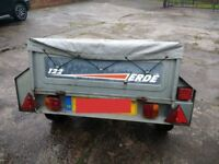 Erde 122 Trailer and cover tip[ping facility