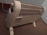 2 x electric heaters (working perfectly) MUST GO THIS WEEK!