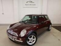 MINI HATCH COOPER 1.6 COOPER 3d 114 BHP ELECTRIC SUN ROOF, ALLOY WHE (red) 2002