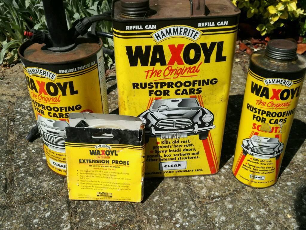Waxoyl car rust proofing system | in Carlton Colville, Suffolk | Gumtree