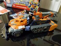 Transformers landmine boxed with instructions
