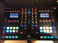 Traktor Kontrol S8 + Chroma Caps + Decksaver - mint condition