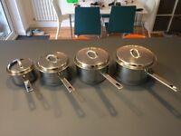 John Lewis Classic Pan Set (4 pots)