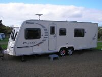 Bailey Pageant Series 7 Limousin Fixed Bed Twin Axle Caravan