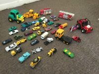 Childs - 41 cars, trucks and vehicles
