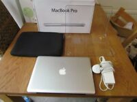 "APPLE MacBook Pro 13"" LED-BACKLIT WIDESCREEN NOTEBOOK. MODEL A1278 (PURCHASED NEW IN OCTOBER 2011)"