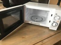 17L Microwave: barely used, for office work but company ceased trading