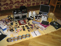 ### VERY LARGE QUANTITY OF TATTOO EQUIPMENT#####