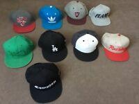 SnapBack, FullCap Hats Bundle - New Era, Adidas, Mitchell and Ness