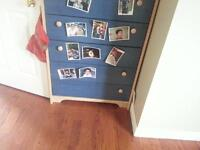 quick sale 2 dressers and one single bed with drawers!!?