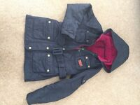 Girls Barbour Jacket - Size M - aged 8-9 years