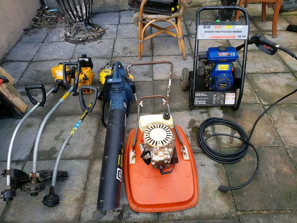 Joblot petrol gardening equipment spares or repair