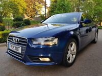 AUDI A4 2.0 TDI SE AUTOMATIC 1OWNER FROM NEW FULL SERVICE HISTORY, SAT-NAVIGATION, PERFECT CONDITION