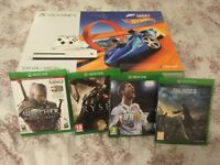Xbox one s 500gb Forza Horizon 3 Hot Wheels Bundle + 4 Games