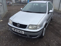 VW POLO 1.4 LONG MOT LOTS OF HISTORY IDEAL FIRST CAR PX WELCOME CARDS TAKEN