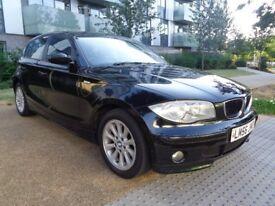 2007 BMW 1 SERIES MANUAL DIESEL,2 KEYS,SERVICE HISTORY 5DR HATCHBACK, GOOD RUNNER, 3 MONTHS WARRANTY