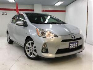 2014 Toyota Prius c very low km/tech pkg/smrt key/crs ctrl/push