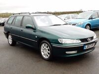 2003 peugeot 406 estate only 81000 miles, motd dec 2017, stunning example a must see