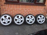 VW / MERCEDES ALLOYS 5 X 112