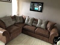 DFS Woodland corner sofa