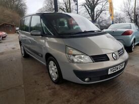 Renault Espace 1.9 dCi Expression 5dr 7 seaters, Climatronic, DRIVES VERY WELL, CARD PAYMENTS