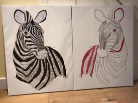 Zebra Canvasses