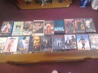 Vhs tapes & dvds