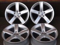"Stunning Brand New Genuine Audi 17""x7.5J Alloy Wheels 5x112pcd VAG Fitment"