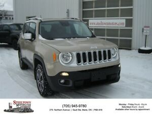 2015 Jeep Renegade Limited 4x4|H/Leather|Removable Roof Panels