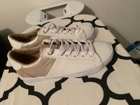 White Superdry Trainers Never Worn