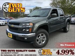 2010 Chevrolet Colorado LT LTZ 4X4 CREW CHROME RIMS I-5