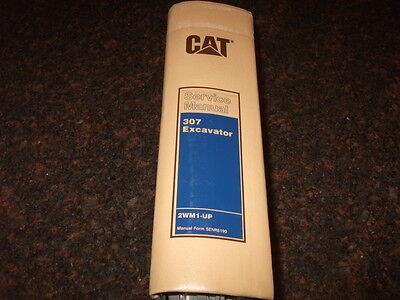 Cat Caterpillar 307 Excavator Shop Repair Service Manual Sn 2wm1-499