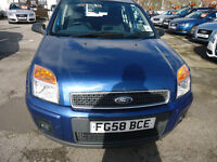 2008 FORD FUSION ZETEC AUTOMATIC 1.6 PETROL COME WITH 12 MONTHS MOT AND 3 MONTHS NATIONWIDE WARRANTY