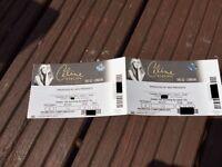 ** CELINE DION ** £50 each 20th June ROW B GR8 seats