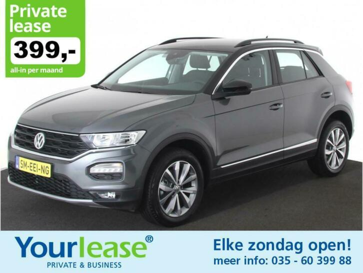 Volkswagen t-roc1.0 tsi style all in 399,- private lease