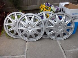 """TOPTECH WHEEL TRIMS 16"""" IN SILVER"""