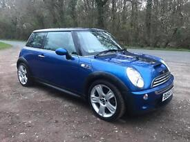 Mini Cooper S, 2004, 175bhp, panoramic sunroof, lots of extras, immaculate