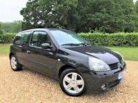 Renault Clio 1.2 *Watch YouTube HD Video* New MOT, Cambelt, Brakes, 2 Owners, Rear Parking Sensors
