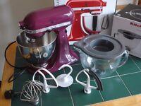 Kitchenaid Boysenberry mixer