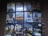 HUGE PS2 AND 30 GAME BUNDLE