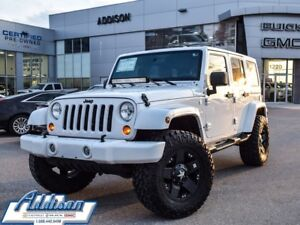 2012 Jeep Wrangler Unlimited SaharaOne owner, accident free