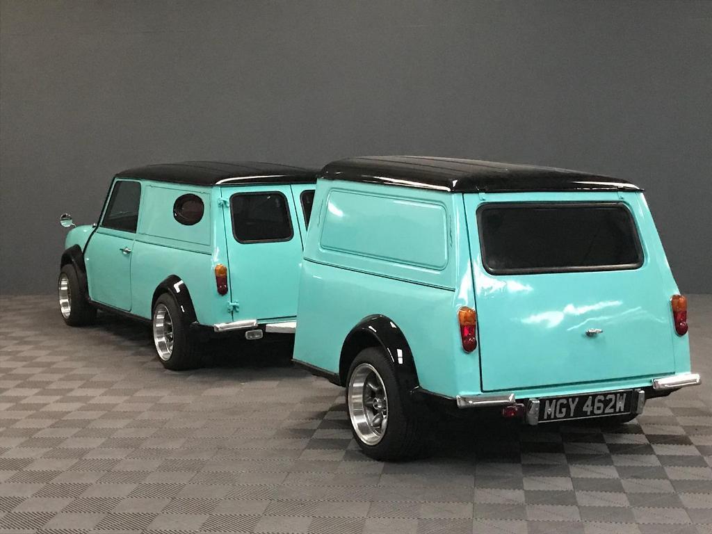 Classic Mini Clubman 1275 Camper Van Estate With Matching Trailer