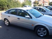 Silver Vectra, M.O.T until November 2016, 79,000 on clock