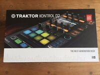 [PAIR] Native Instruments Traktor Kontrol D2 - USB MIDI Controller with Traktor Pro 2 [PAIR]