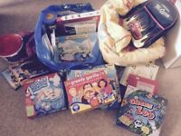 Toys, games puzzles and more