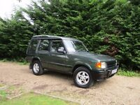 LAND ROVER DISCOVERY TDI AUTO 2.5 DIESEL AUTOMATIC 4X4 7 SEATER DISCOVERY