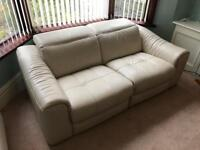 2 seater electric reclining sofa